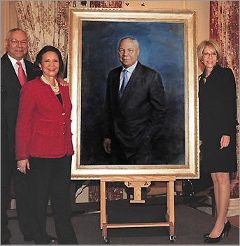 Colin Powell Unveiling
